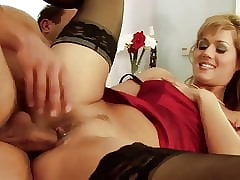 Sultry pizzazz milf round..