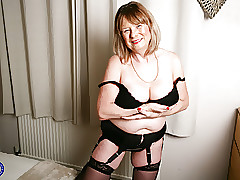British curvy Adult Son Jane..