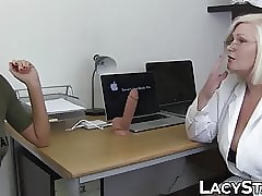 Adulterate Lacey Starr examines..