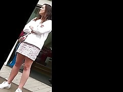 Upskirt English Girl-Next-door..