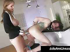 Super Tow-headed Milf Julia Ann..