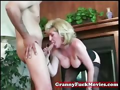 Granny hooker loves them young