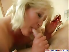 Drinker MILF seduced retire..