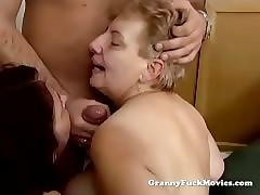 Grannies enjoying a younger..